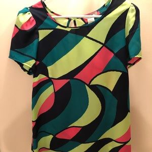 Color blocking dress from Francesca's